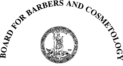 Board for Barbers and Cosmetology Esthetics Regulations